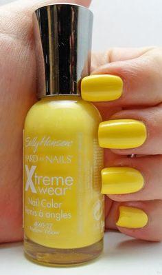 The Lacquered Stash: Sally Hansen - Mellow Yellow