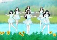 Read 8 from the story Gfriend - fanart by with 311 reads. Gfriend Album, Sinb Gfriend, Cartoon Pics, Cartoon Characters, Anime Muslim, Girl Korea, Korean Art, G Friend, Kpop Fanart