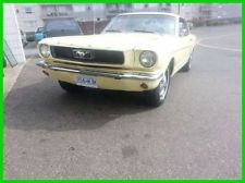 Ford : Mustang 1966 Mustang Coup Inline 6 Cylinder RWD Recently Painted Sharp American Classic