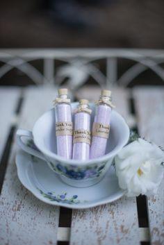 lavender sugar wedding favors http://www.weddingchicks.com/2013/10/14/tea-party-wedding-ideas/