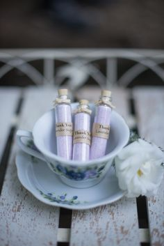 lavender sugar wedding favors http://www.weddingchicks.com/2013/10/14/tea-party-wedding-ideas/