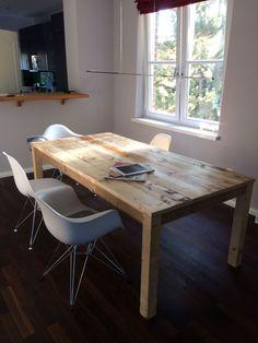 kawentsmann tisch modell 002 in seinem neuen zuhause au erhalb von m nster m bel pinterest. Black Bedroom Furniture Sets. Home Design Ideas
