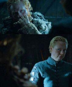 Tormund and Brienne- Book Of The Stranger Season 6 Episode 4