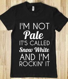 Haha rockin Snow White proudly | funny | Pinterest | Snow White, Snow and Lol