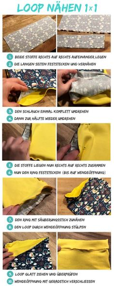 Wonderful Pictures Sewing for beginners quilt Thoughts Loop nähen - Anleitung und Schnittmuster für Jersey-Loops How To Start Knitting, Knitting For Beginners, Knitting For Kids, Knitting Projects, Baby Knitting, Knitting Patterns, Sewing Projects, Pattern Sewing, Afghan Patterns