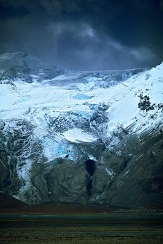 The new Ice cave of the now hollow Gígjökull   Flickr - Photo Sharing!