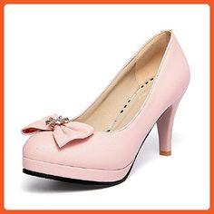 Modemoven Women's Peach Pale Pink Patent Leather Pumps,Peep Toe Heels,Slingback  Sandals,Evening Shoes,Cute Stilettos - 7 M US... Find a vivacious …