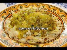 Rfissa 2 Moroccan Recipe / Recette Marocaine-Sousoukitchen - YouTube