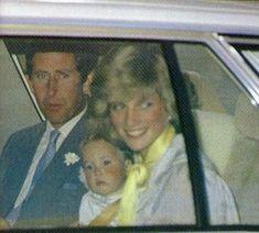 April 16, 1983: Prince Charles, Princess Diana & Prince William arrive at Tullamarine Airport, Melbourne, Victoria.