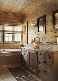 40+ Rustic Cabin Bathroom Ideas for Your Inspiration