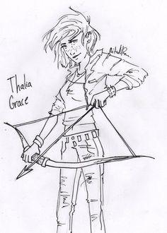 Thalia Grace-- Huntress of Artemis