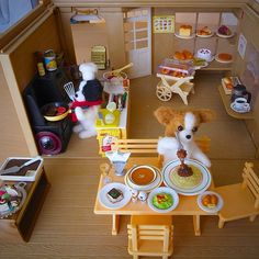 I made a Papillon Restaurant , Needle Felting - @momos_gallery- #webstagram