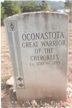 Grave Marker- Chief Oconastota
