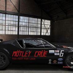 Too Fast For Love motley crue car