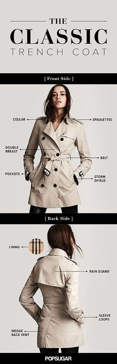 Trench Coat Outfit For Spring - FashionActivation Trench Coats, Trench Coat Outfit, Classic Trench Coat, Trench Coat Women, Burberry Trench Coat, Style Casual, Style Me, Style Star, Trendy Style
