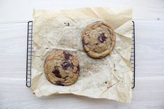 Bouchon Style Chocolate Chunk and Chip Cookie. Need to try. (Highly recommended recipe.)