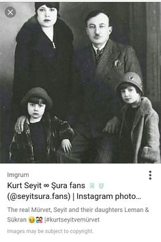 The real Kurt Seyit Eminof family. KURT SEYIT ve SURA, the Turkish TV series is an adaptation of a true story based on the real story of Kurt Seyit Eminof. Best Actress, Best Actor, Kurt Seyit And Sura, Tv Series On Netflix, Drama Tv Series, Period Movies, Turkish Actors, True Stories, Gq