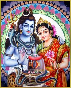 Lord Shiva and Parvati (via Mere Shiv Shankar Bhole Baba)