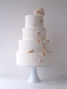 falling petals cake by maggie austin