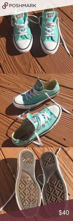 Tiffany Blue Converse Brand new with box, never worn! Men's 9 Converse  Shoes | My Posh Closet | Pinterest | Never, Converse and Blue converse