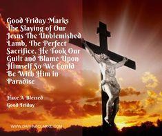 #GoodFriday #EasterWeekend