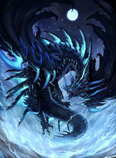Mythical Creatures Art, Mythological Creatures, Magical Creatures, Dark Fantasy Art, Fantasy Artwork, Fantasy Books, Mythical Dragons, Cool Dragons, Fantasy Beasts