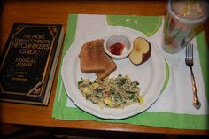 Delicious brunch with a side of fiction. Day 20.