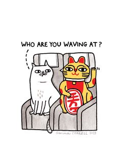 SkyCats - March | by gemma correll