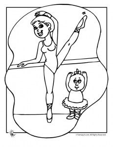 Ballet Coloring Pages | Fantasy Jr.