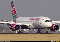 Kenya Airways 5Y-KZC aircraft at Amsterdam - Schiphol photo