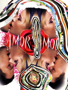 Print Amor Amor Dior