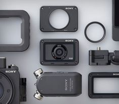 Sony's is a tiny camera with big ideas – TechCrunch Technology Posters, Technology Design, Technology Gadgets, Digital Technology, Tech Gadgets, Sony Design, Yanko Design, Tiny Camera, Bluetooth Stereo Headset