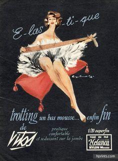 Vitos (Stockings) 1957 Guy Demachy
