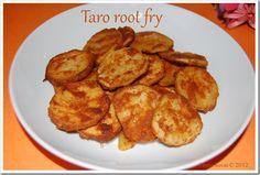 Taro root fry / சேப்பங் கிழங்கு வறுவல்