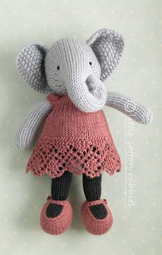 knitted sweater pattern for little cotton rabbits - - Yahoo Image Search Results Knitting For Kids, Free Knitting, Baby Knitting, Knitting Patterns, Crochet Patterns, Knitting Toys, Yarn Projects, Knitting Projects, Crochet Projects