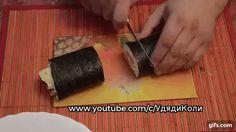 Букет из суши и роллов в домашних условиях.