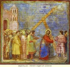 Giotto. The Carrying of the Cross.