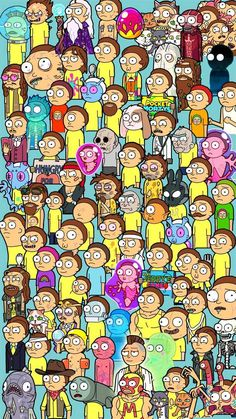 Where's Morty? : PocketMortys - DIY - Zelda - tips Et Wallpaper, Trippy Wallpaper, Iphone Background Wallpaper, Butterfly Wallpaper, Cartoon Wallpaper, Rick And Morty Image, Rick I Morty, Rick And Morty Quotes, Rick And Morty Poster