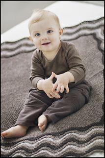 Tweed Baby Blanket by Jared Flood