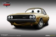 Disney Cars Commission_Karl by ~yasiddesign on deviantART