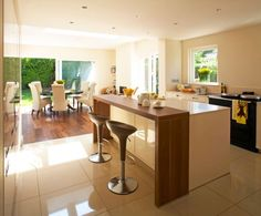 , Contemporary Kitchen Design With Modern Breakfast Bars For Kitchens Also Unique And Modern Kitchen Bar Stools Also Modern White Kitchen Island Design Also White Laminate Floor Combine With White Tile Flooring: Breakfast Bars for Kitchens with Bar Stools Kitchen Bar Design, Kitchen Island Bench, Modern Kitchen Island, Kitchen Benches, Kitchen Contemporary, Kitchen Islands, Kitchen Ideas, Kitchen White, Island Chairs