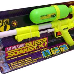 I Love the 90s Toys | Super Soaker 50. CLASSIC | 90's Toys I had and enjoyed