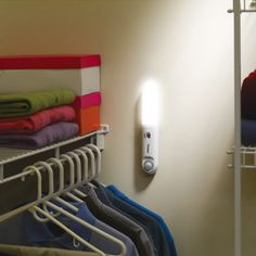 motion sensor closet light - battery operated