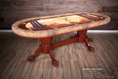 Custom Tables, Poker Table, Man Cave, House, Furniture, Design, Home Decor, Decoration Home, Home