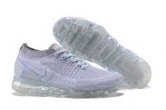 ef6dea1ae7 Nike Air VaporMax Flyknit 2 TPU Gray White Womens Mens Running Shoes