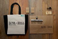 Luna + Hill identity design by @craigleo