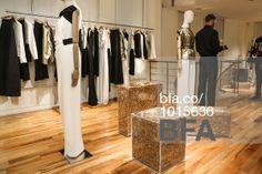 Gold Straw Monoliths at MAX MARA Celebrates Encased: A Solo Exhibition by Sasha Sykes. #BFAnyc