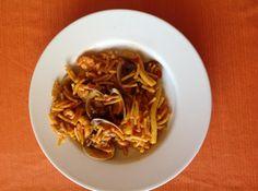 Pasta, Japchae, Spaghetti, Cooking, Ethnic Recipes, Taurus, Food, Club, Spinach