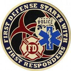 Quarantine First Responders Coin Firefighter Paramedic, Volunteer Firefighter, Firefighters, Firemen, Emergency Medical Responder, Police Challenge Coins, Fire Badge, Fallen Officer, 1st Responders