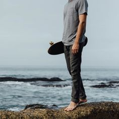Rover Pants | Charcoal | Almond Surfboards & Designs